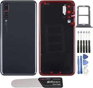 YHX-OU Tapa de batería de 6,1 pulgadas, apta para Huawei P20 Pro, repuesto de la carcasa trasera + herramienta de instalac...