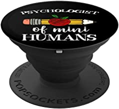 Psychologist of Mini Humans Team Gifts PopSockets Grip and Stand for Phones and Tablets