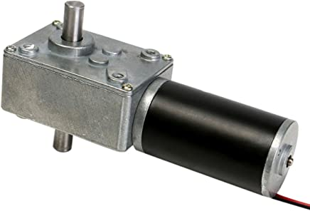 Queenwind 12V 160rpm 減速モーターウォームギヤダブルシャフト DC モータ Cear-ボックスモーター