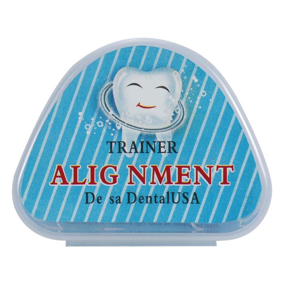 代数的角度突き出す歯トレイまっすぐにする歯トレイ保持器混雑した不規則な歯矯正器具ブレースヘルスケアツール