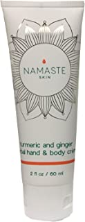 Turmeric, Lavender and Ginger Hand Body Creme 2 oz tube