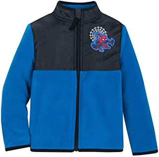 Marvel Spider-Man Pieced Fleece Jacket for Kids - Multi