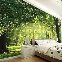 XIAOHUKK 粘着性のある3D壁紙壁画自然風景アート壁画ウォールステッカーリビングルーム寝室家の装飾防水ステッカー