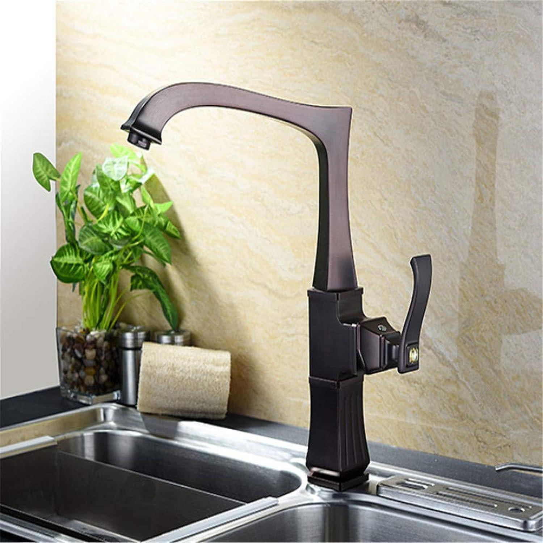 Sink Chrome-Plated Brass Brass Bronze Kitchen Faucet 360 Degree redate Kitchen Mixer Kitchen Tap for Kitchen