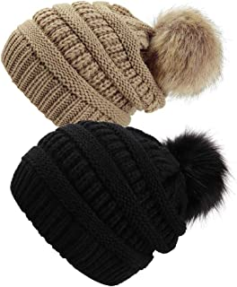 933e3df04 Amazon.com: faux fur hat - 4 Stars & Up