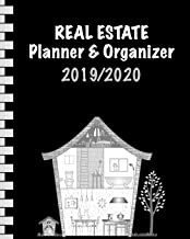 Real Estate Planner & Organizer 2019/2020: Calendar & Notebook for Real Estate Agents I August 2019 through July 2020 I 110 Pages • 8x10