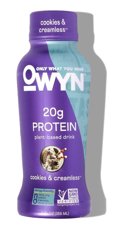 OWYN - 100% Ranking TOP14 Import Vegan Plant-Based Creamle Cookies Protein Shakes