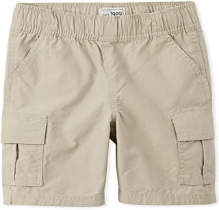 The Children's Place Boys Slim Size Pull-on Cargo Shorts
