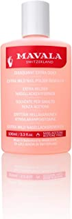 Mavala Extra Milder Nail Polish Remover Acetone Free 100ml