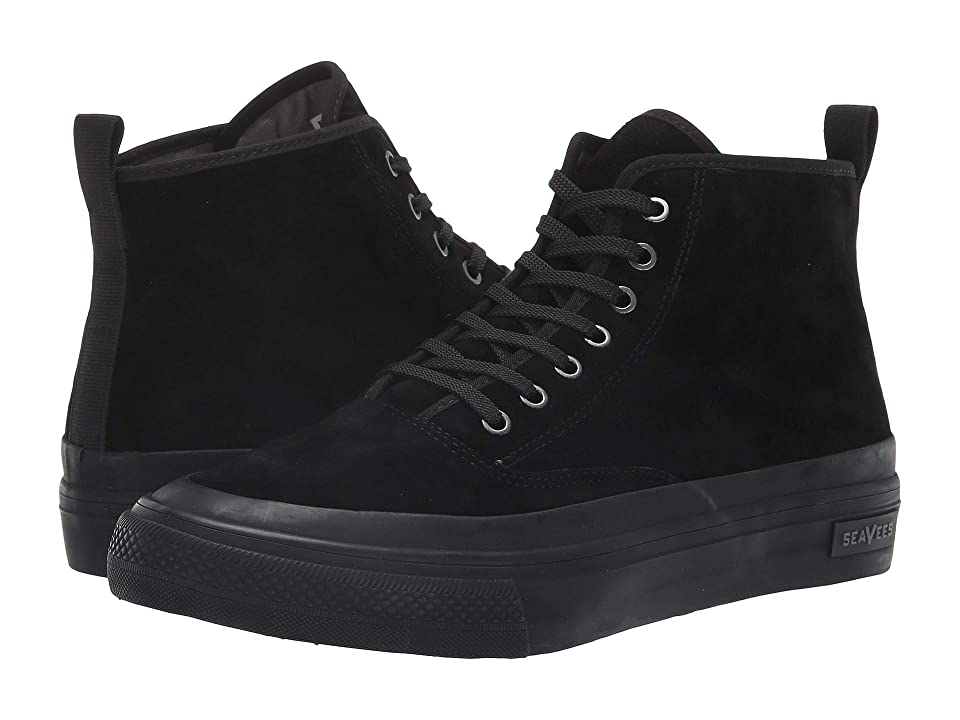 SeaVees Mariners Boot Pig Suede (Black) Men