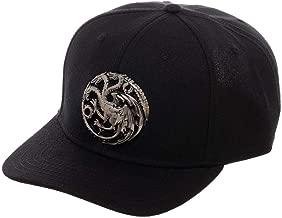 Game Of Thrones House Targaryen 3D Logo Snapback Hat