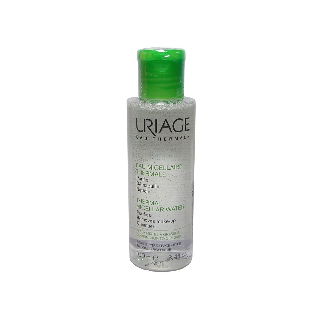 抜粋識別シャットUriage Thermal Micellar Water Combination To Oily Skin 100ml [並行輸入品]
