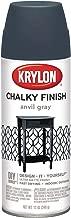 Krylon K04104000 12 Oz Anvil Gray Chalky Finish Spray Paint