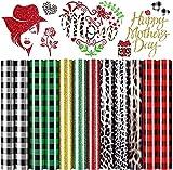Cysincos Plotterfolie Textil, PU Vinylfolie Plotter, transferencia de calor, Plotter para plancha, para camisetas DIY 30x25 cm