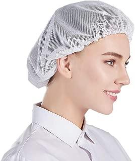 Confezione da 5 , L Blu Nanxson 5pcs cappello da cuoco elastico da cucina cuoco cap maglia servizio di ristorazione reti per capelli CF9023