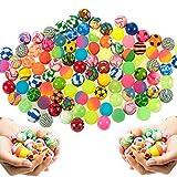 German Trendseller 6 x mezcla de pelotas┃bolas colores ┃flummi┃ fiestas infantiles┃ idea de regalo┃cumpleaños de niños┃ 6 unidades