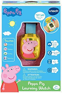 VTech 526003 Peppa Pig Learning Watch, Multicolour
