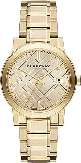 Swiss Rare Gold Date Dial 38mm Unisex Men Women Wrist Watch The City BU9033
