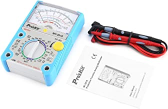Pros'Kit MT-2018 Analog Multimeter Safety Standard Professional Ohm Test Meter DC AC Voltage Current Resistance Multimeter
