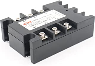 Baomain Solid State Relay JGX-3325A 3.5-32 VDC Input 480VAC 25 Amp Output DC/AC Three Phase
