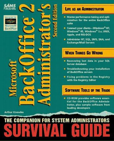 Microsoft Backoffice 2.0 Administrator's Survival Gu