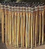 iapyx® Gartenfackel Bambusfackeln Bambus Fackeln Öllampen Windlicht Partylicht Garten Hochzeit