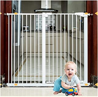 Expandable Baby Gates Extra Wide Security Gate Bar Stairway Fence Children's Kitchen Fence Pet Fence Free Punching Self Cl...