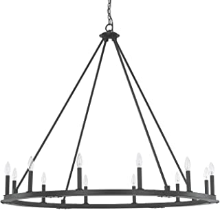 Capital Lighting 4912BI-000 12 Light Chandelier