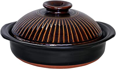 CtoC JAPAN Select 土鍋 マルチ 9号 M1048 菊花 萬古焼 日本製