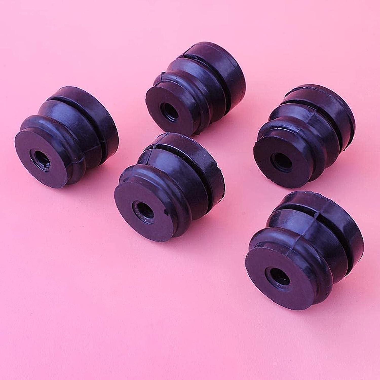 Amortiguadores cortos y más largos, piezas de primera clase para motosierra china 4500 5200 5800 45CC 52CC 58CC Piezas (Color: China) Piezas de repuesto (Color : China)