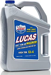 Lucas Oil 10076 15W-40 Motor Oil - 1 Gallon Jug