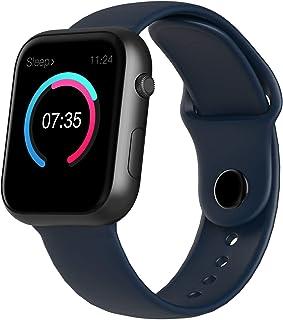 ZHANG Smartwatch, Reloj Inteligente Impermeable IP68 Pulsera Actividad Hombre Mujer, Inteligente Reloj Deportivo Reloj Fitness con Pantalla Táctil Completa Pulsómetro Cronómetros