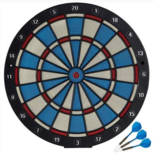 Weiche Pfeile eingestellt Nicht elektronische Anfängerpfeile zielen Haupteintrittspfeile 41 * 41cm Gitter Magnetische Dartscheibe Dartscheibe gesetztes Spiel, das Spiel-Innenrolle oben doppelseitige
