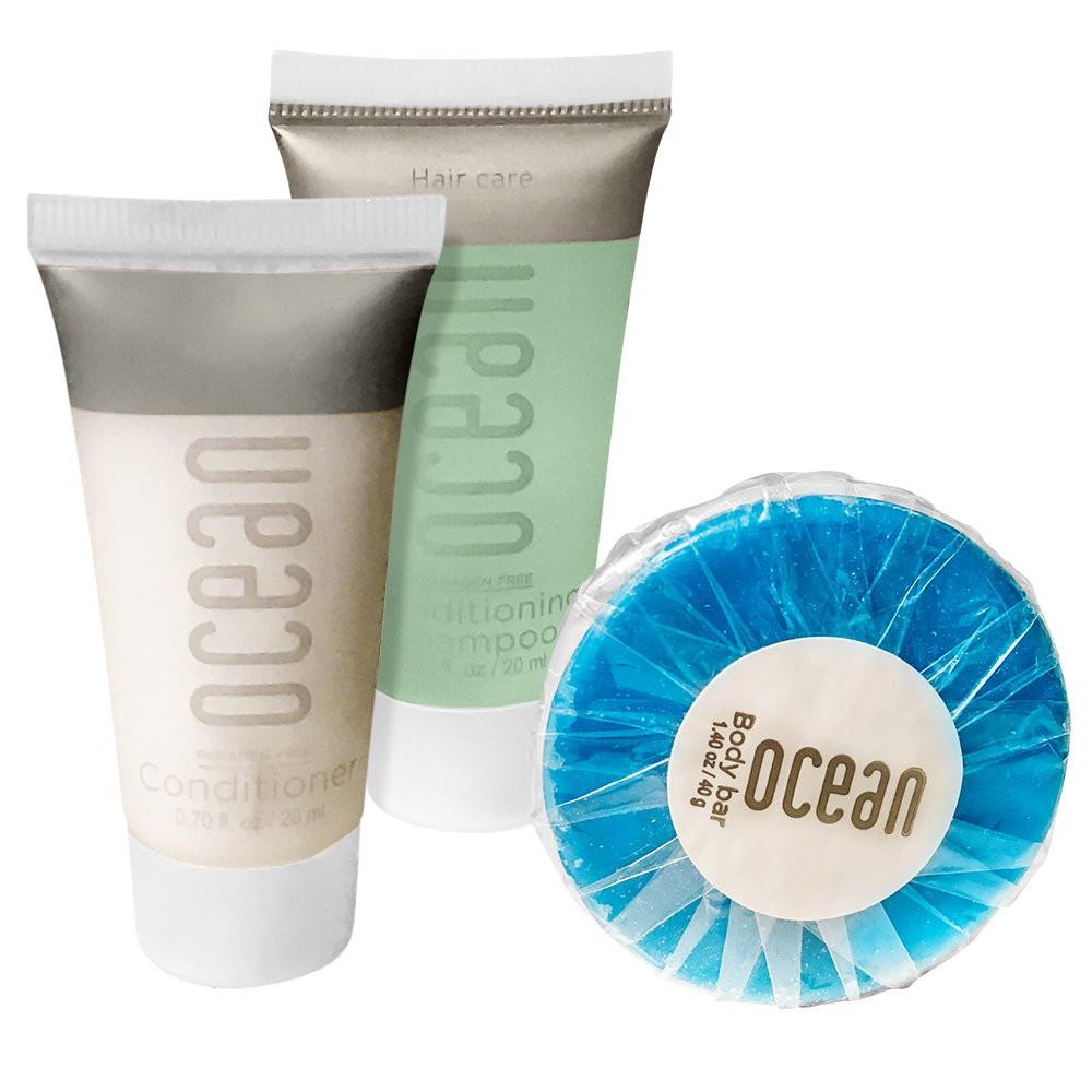 Ocean Collection BNB Amenity Travel Bath Tulsa Mall Outlet sale feature and Piece 6 Shower Set