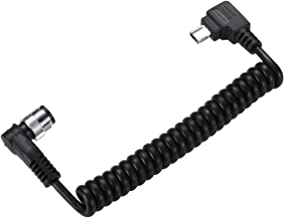 Solmeta Cable-GF for connecting GPS receiver GMAX to Nikon Df, D750, D610, D600, D7200, D7100, D7000, D5500, D5300, D5200, D5100, D5000, D3300, D3200, D3100 and Coolpix A, Coolpix P7800 P7700