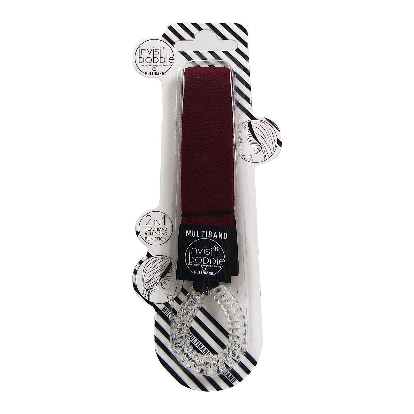 カフェ間違っているマリンInvisibobble Multiband Red-y To Rumble [並行輸入品]