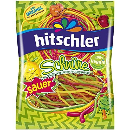 Hitschler Schnüre Saure Bunte, 125 g
