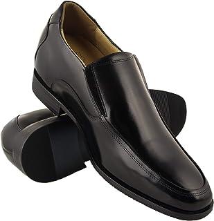 Zerimar Zapatos con Alzas para Hombre de Estilo Elegante Diseño de Pala Alta con Elásticos Laterales para Un Mayor Confor...