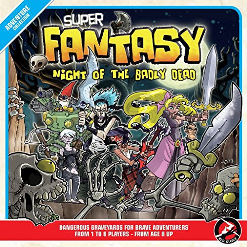 Super Fantasy: Night Of The Badly Dead Board Game