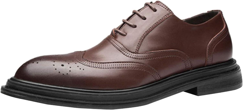Men's Classic Brock shoes Business Casual shoes Black