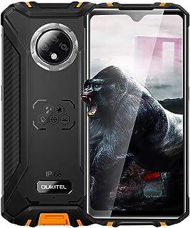 OUKITEL WP8 Pro SIMフリー スマートフォン 防水 防塵 耐衝撃 4Gスマホ本体 5000mAh バッテリー 6.49インチ Android 10 4GB RAM + 64GB ROM 指紋認識 顔認証 デュアルSIM(Nano...
