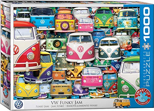 Eurographics 1000 Teile - VW Bus - Funky Jam