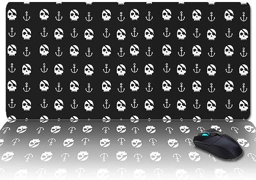 1x Punk Skulls Vikings PC/'s laptop mousepad