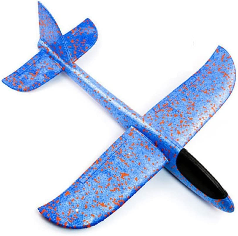 Huiee Hand Launch Glider Planes Airplane Rare Model Plane Toy 480MM Discount mail order W