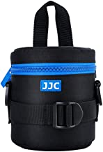 JJC Deluxe Lens Case Pouch for Canon EF-S 18-55mm/EF-S 10-18mm/EF 50mm,Nikon AF-S 18-55mm/AF-P 18-55mm/Nikkor 50mm,Fuji Fujinon XF 18-55mm/XF 23mm/XF 16mm and other Lens below 3.07