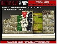 リアリティインスケール 35251 1/35 現代の中東の壁