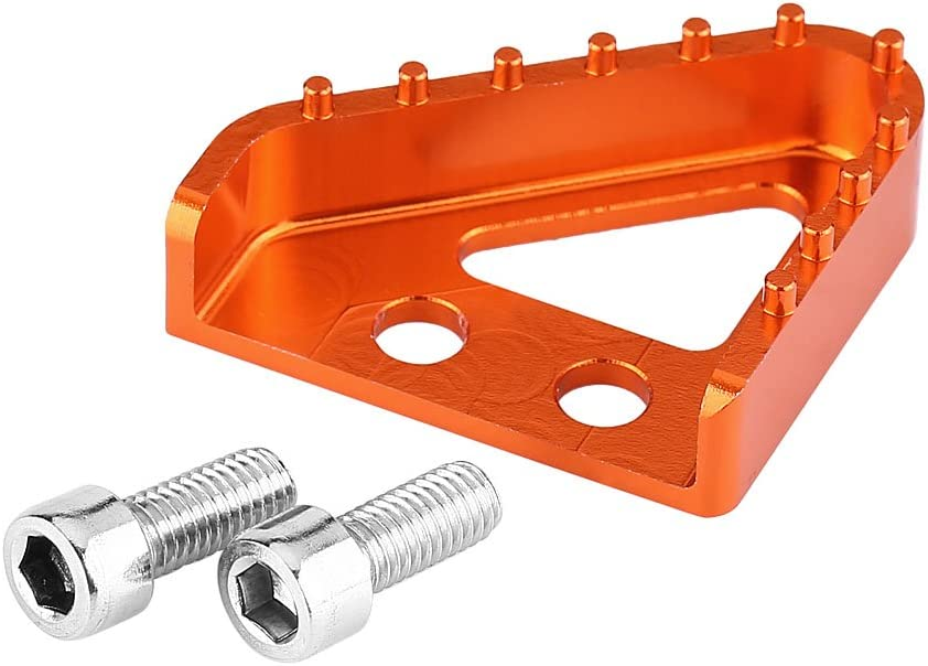 Rear Brake Pedal Tip Step Online limited shopping product CNC Plate Motorcycle
