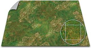 Battle Game Mat - 48x48 - Dungeons Tabletop Dragons Dice Role Playing Map - Wargaming RPG Warfare 40k Flames War - Reusabl...