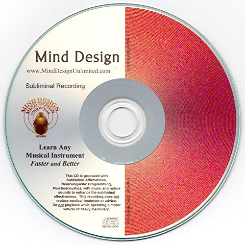 Learn Musical Instruments Easily Subliminal CD with NLP