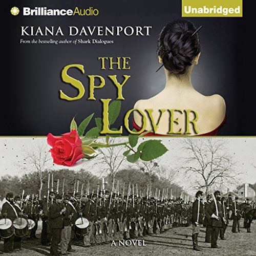 The Spy Lover audiobook cover art
